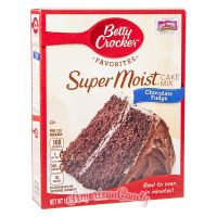 Betty Crocker Super Moist Hershey's Chocolate Fudge Cake Mix 432