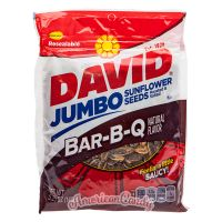 KNÜLLER 6 x 149g David Sunflower Seeds Original & BBQ USA