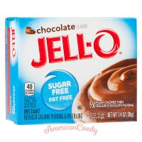 Jell-O Instant Pudding & Pie Filling Chocolate sugar free