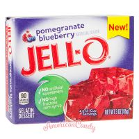 Jell-O Instant Pudding Gelatin Dessert Pomegranate Blueberry