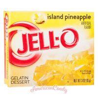 Jell-O Instant Pudding Gelatin Dessert Island Pineapple