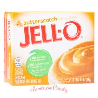 Jell-O Butterscotch Cream Instant Pudding & Pie Filling