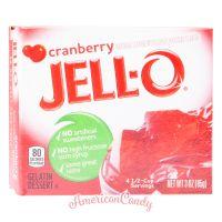 Jell-O Instant Pudding Gelatin Dessert Cranberry