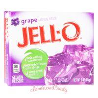 Jell-O Instant Pudding Gelatin Dessert Grape