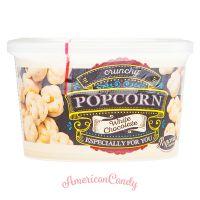 Premium White Chocolate Popcorn Crunchy 125g
