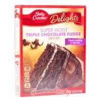 Betty Crocker Super Moist Triple Chocolate Fudge Cake Mix 432g