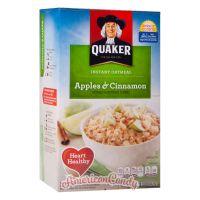 Quaker Instant Oatmeal Apples & Cinnamon 350g