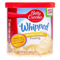 Betty Crocker Whipped Butter Cream Frosting 340g