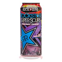 Rockstar Super Sours Blue Raspberry Energy Drink