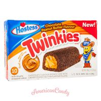 Hostess Chocolate Peanut Butter Twinkies (10 single Cakes) 385g