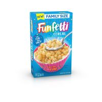 Funfetti Cereal Family Size 481g