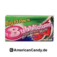 Bubblicious Watermelon Wave Big 10 Pack