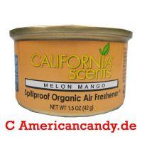 California Scents Lufterfrischer Melon Mango