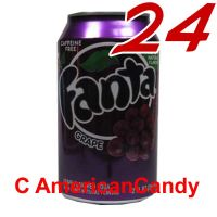 24x Fanta Grape incl. Pfand