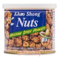 Khao Shong Nuts Mexican Spicy Peanuts