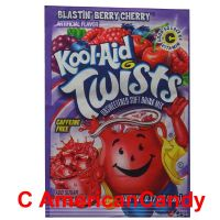 Kool Aid Twists Blastin' Berry Cherry