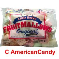 Little Becky Marshmallows Fruit Flavors 280g
