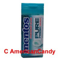 Mentos Pure Fresh Wintergreen Chewing Gum