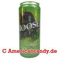 Moose Light Lime Lager Beer