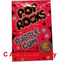 Pop Rocks Popping Bubblegum