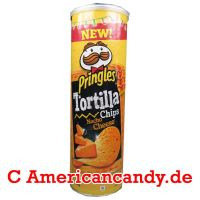Pringles Tortilla Chips Nacho Cheese