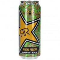 Rockstar Baja Juiced Energy Machu Peachu Energy Drink