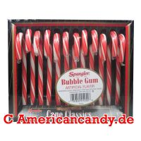 Spangler Candy Canes Bubble Gum 170g