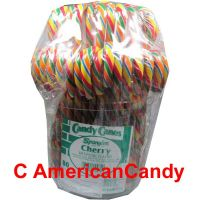 Spangler Candy Canes Eimer mit 80 Candy Canes Cherry
