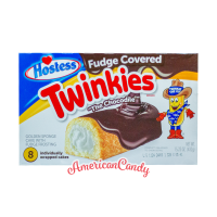 Hostess Fudge Covered Twinkies (8 single Cakes) 432g
