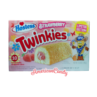 Hostess Strawberry Twinkies (10 single Cakes) 385g