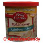 Betty Crocker Rich & Creamy Rainbow Chip Frosting 453g