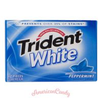Trident White Peppermint 12er