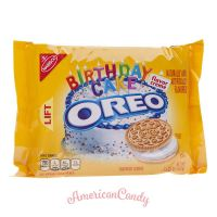 Golden Oreo Birthday Cake flavor Creme 432g