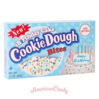 Birthday Cake Cookie Dough Bites