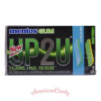 Mentos Gum UP2U Chillax Mint & Energy Strike