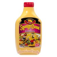 Squeeze Cheese Habanero Cheddar Cheese Sauce 440ml
