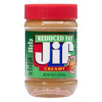 Jif Creamy Peanut Butter reduced fat 454g