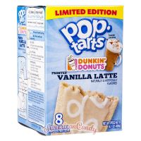 Pop Tarts Dunkin' Donuts Frosted Vanilla Latte (2 Toast-Taschen)