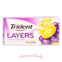 Trident Layers Grape + Lemonade