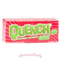 Quench Gum Strawberry Watermelon