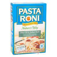 Pasta Roni Natural Pasta Olive Oil & Italian Herb