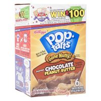 Pop Tarts Gone Nutty! Frosted Chocolate Peanut Butter (2 Toast-T