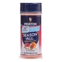 Morton Season All Seasoned Salt Less Sodium 226g