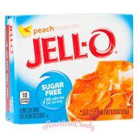 Jell-O Instant Pudding Gelatin Dessert Peach Sugar Free