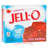 Jell-O Instant Pudding Gelatin Dessert Raspberry Sugar Free