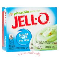 Jell-O Pistachio Cream Instant Pudding & Pie Filling sugar free