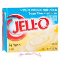 Jell-O Lemon Instant Pudding & Pie Filling sugar free