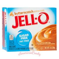 Jell-O Butterscotch Instant Pudding & Pie Filling sugar free