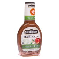 KC Masterpiece Marinade Tuscan Garlic & Herb 473ml