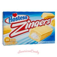 Hostess Zingers Iced Vanilla Cake (12 single Cakes) 432g